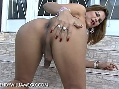Hot Viviane posing her tight ass and fat hard cock